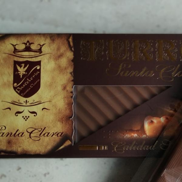 Turrón de chocolate músico (Trufado)